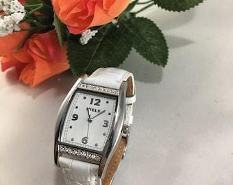 Ladies JUELS wrist watch with Swarovski crystals