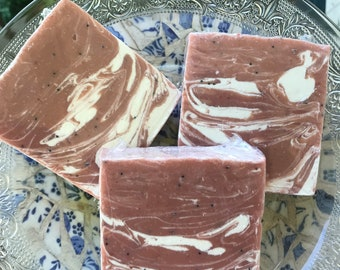 White in Red Love Spell Soap