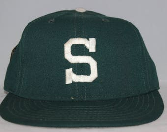 Vintage Michigan State Spartans Pro Line NCAA Fitted Hat 6 7/8
