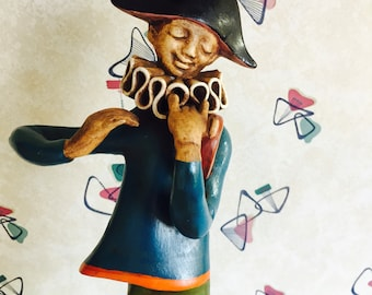 1950s - 1960s - Harlequin - Jester - Wall Plaque
