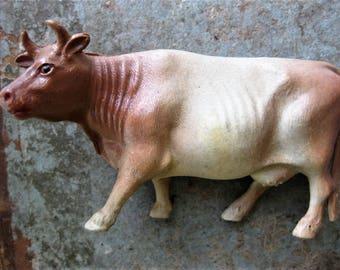 Vintage Celluloid Cow