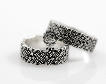 Celtic wedding rings Etsy