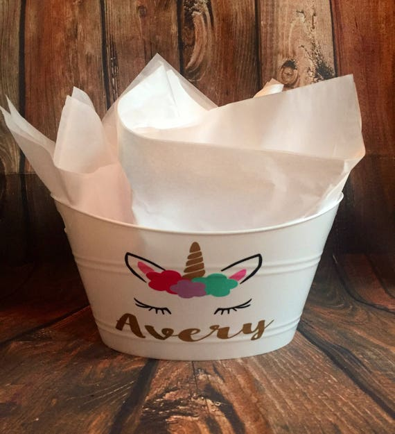 11 adorable personalized easter basket ideas from etsy aileen cooks shabby chic floral easter basket liner from tiny rose boutique negle Images