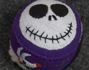 Made to order - NightMare Before Christmas Pincushion  free usa ship