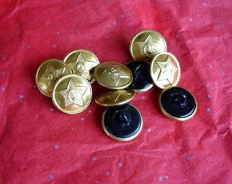 Soviet Era Buttons