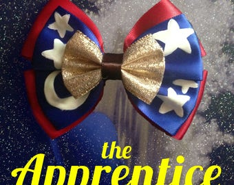 The Apprentice inspired bow