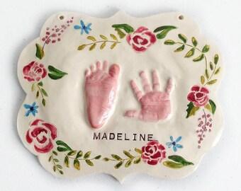 Kit - bébé d'impression imprime bébé personnalisé pépinière Art - Shabby Chic pépinière - bébé personnalisé fille chambre d'enfant - décor de chambre de bébé personnalisée - bébé fille-