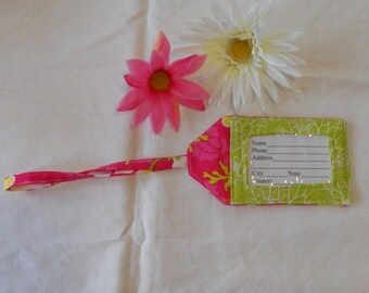 Luggage Tag - Summertime