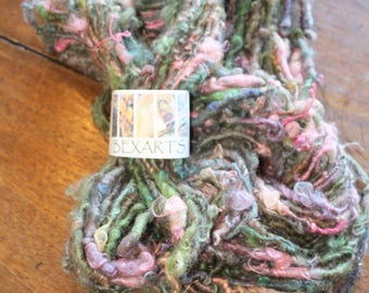 Hand Spun Textured Art Yarn #79