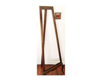 Gorgeous 1950s Standing Easel • Antique Ornate Carved Art Easel