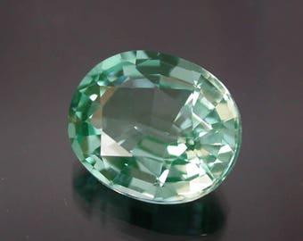 Very nice 6.6 ctw. paraiba tourmaline loose gemstone.