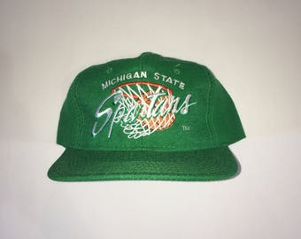 Vintage Michigan State Spartans Youngan Snapback
