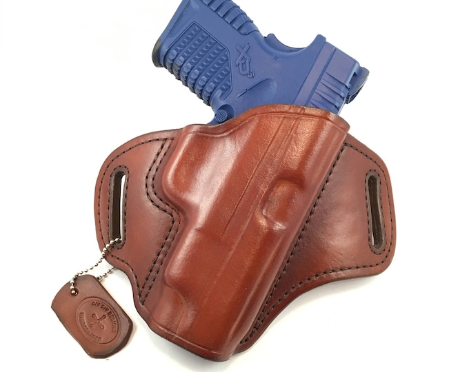 Springfield XDS 4.0 - Handcrafted Leather Pistol Holster