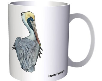 New Brown Pelican Bird 11oz Mug m344