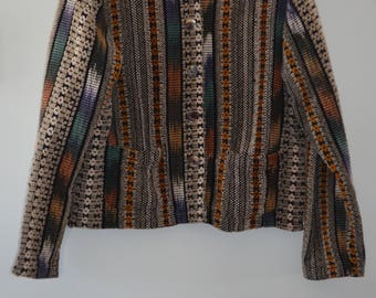 Get 15% off with code NEW15 tribal/navajo jacket 80' cotton Medium