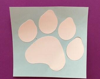 Paw print, paw, dog paw, cat paw, paw decal, paw iron on