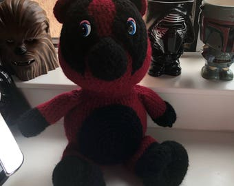 Deadpool Inspired Cherish Bear