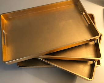 Gold Laquered Serving Tray (Total of 5 available)