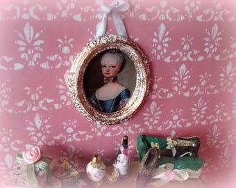 miniature 1: 12 dollhouse frame