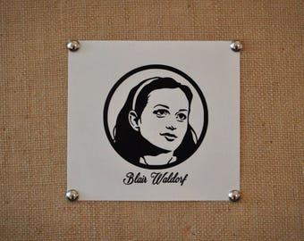 Blair Waldorf Decal