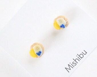 Blueberry&Lemon Tart Earrings