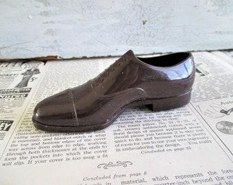 Little Vintage Brown Shoe Salesman Sample