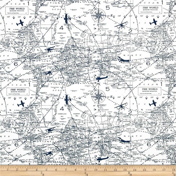 Ships same day premier prints air traffic premier navy airplane ships same day premier prints air traffic premier navy airplane plane map home decor fabric fabric by the 12 yard from fabricsupplyco on etsy studio gumiabroncs Gallery