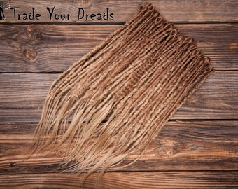 Free Shipping! Choice of colors! Full Set Ombre Dreads, Single Ended Synthetic Dreads, Crochet dreadlocks, Double Ended Dreadlocks