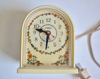 Vintage 1960s Timex Alarm Clock