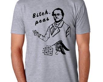 Genetics Gift, Biology Gift for Him, Mendel Shirt, Bill Nye loves this shirt
