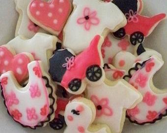 Baby Girl MINI Cookies