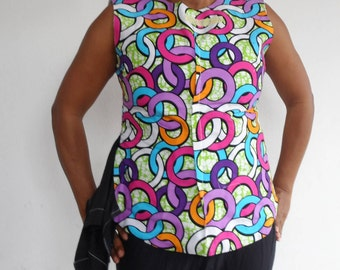 Sleeveless with side piece