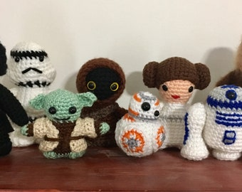 Crocheted Star Wars
