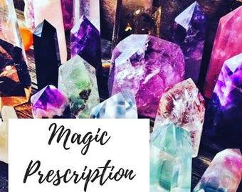 Magic Prescription - Victoria Crossman - Crystal Suggestion - Herbs - Essential Oils - Tarot Cards - Spellwork - Magical Recommendations