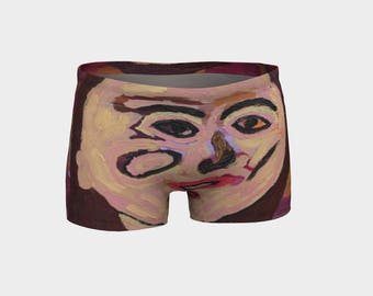 Mrs. Trudeau Ladies Shorts Designed from one of my famous paintings. Don't let her catch U wearing these...lolo