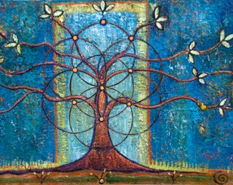 Tree Art Images - The Tree of Life, a print