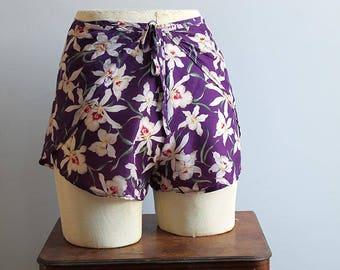 1960s Tie On Shorts // Eeni Meeni Bikini // One Size