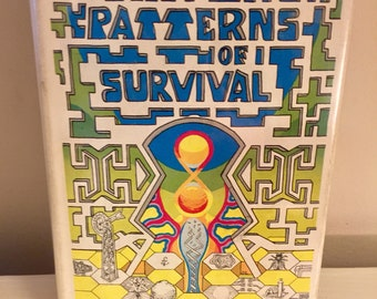 The Patterns of Survival by Harold Courtright // 1974 // Hardback and Signed Book