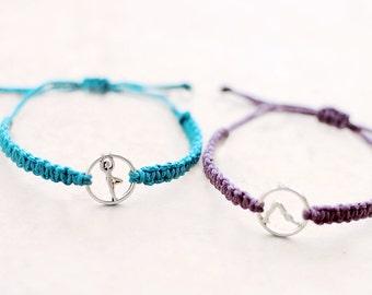 Yoga Bracelet - Hemp Bracelet - Hemp Jewelry