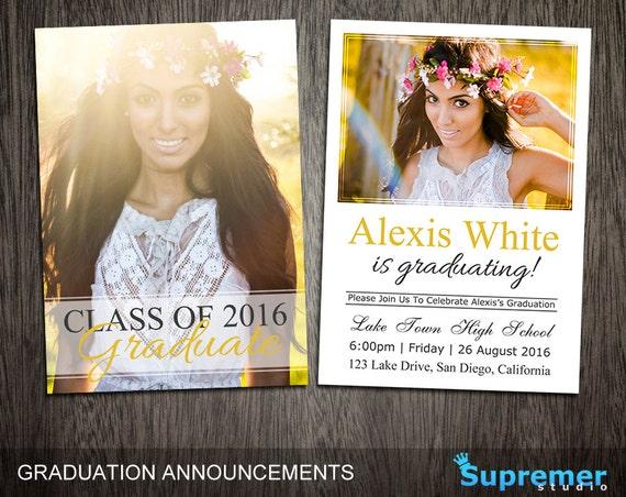 graduation card templates
