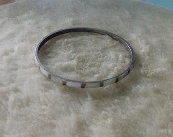 Thin, Brown, Cream Bracelet