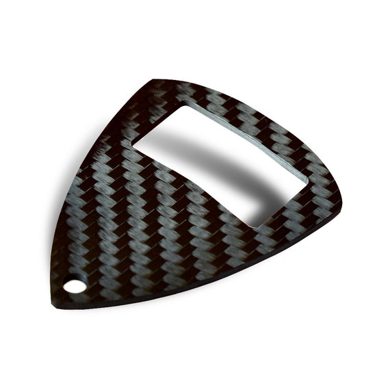 carbon fiber bottle opener keychain by centri designs. Black Bedroom Furniture Sets. Home Design Ideas