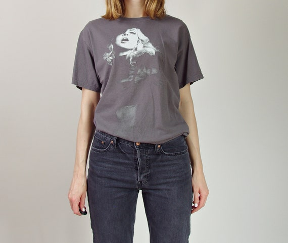 Vtg Madonna Sticky & Sweet Tour distressed look cotton t-shirt