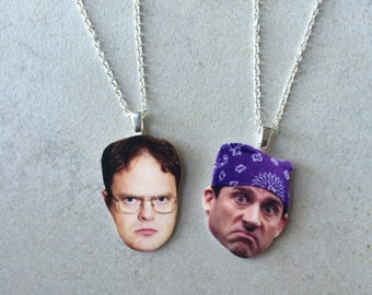 Dwight and Michael Friendship Necklaces