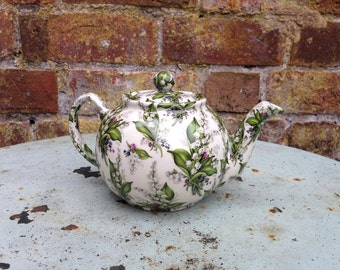 Handmade Lily of the Valley Teapot