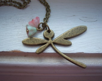 Dragonfly Necklace - Free Gift With Purchase