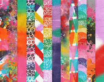Just for Fun: Painted Papers