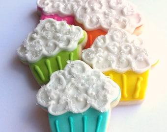 Mini Cupcake Sugar Cookies - 3 Dozen