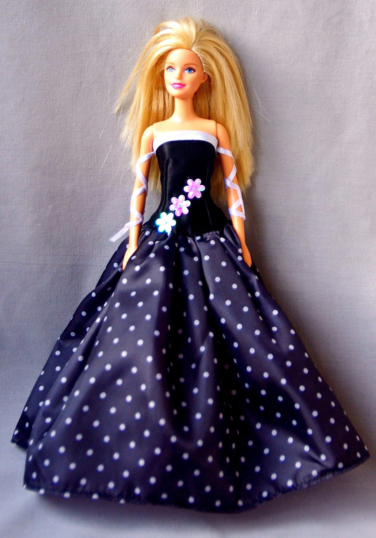 Vestiti di barbie barbie abito da sera vestiti per le for Barbie colora vestiti