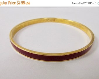 On Sale J CREW Red Enameled Bangle Bracelet Item K  # 1884
